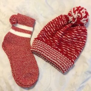 Cozy sock and beanie bundle!